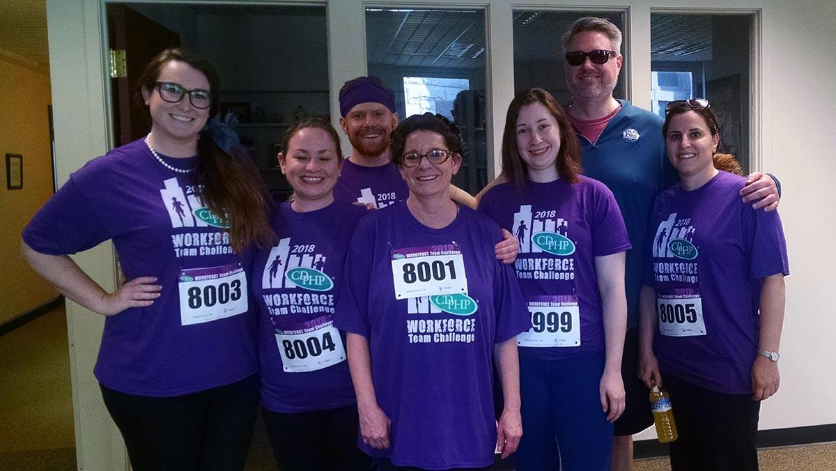 SRC team runs the Corporate Challenge