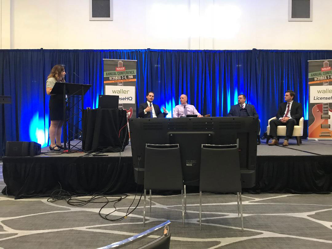 Theresa Russo hosts panel discussion at NALCP 2018 Annual Meeting
