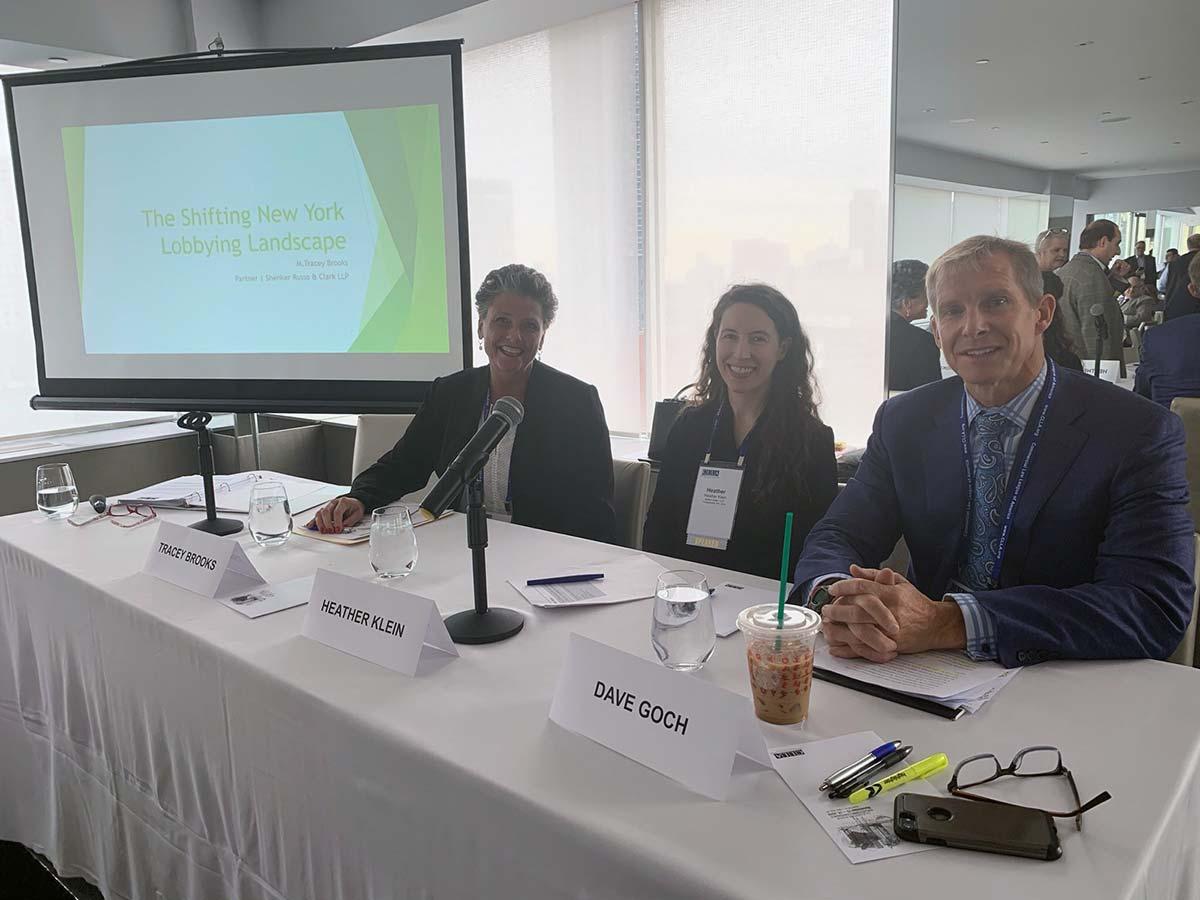 Tracey Brooks, Heather Klein and Dave Goch